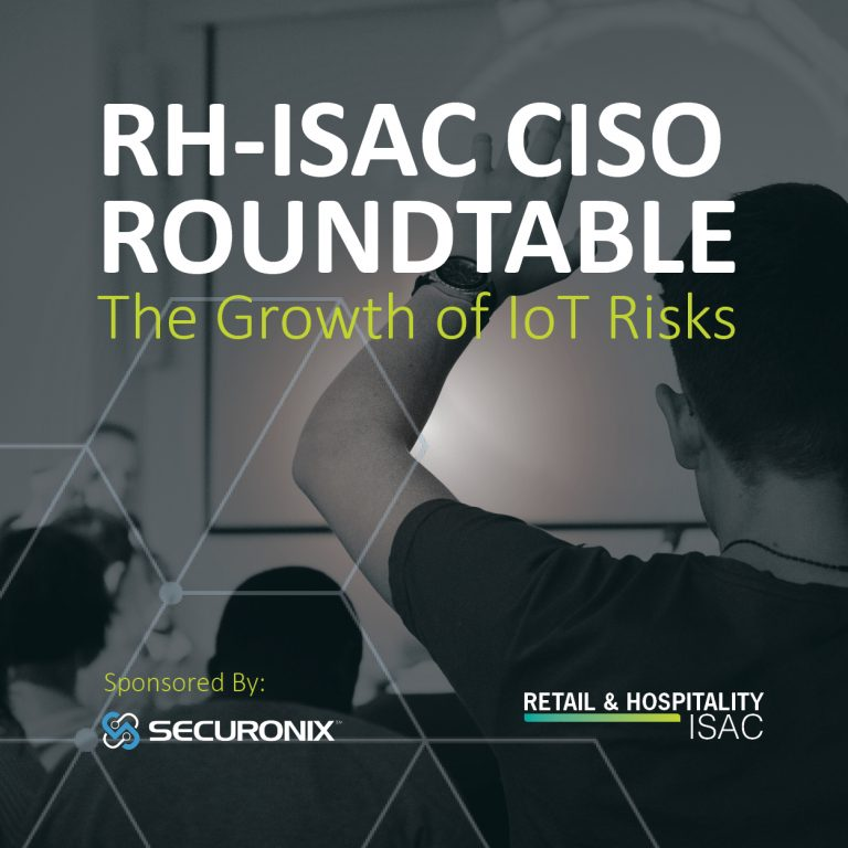 CISO Roundtable - IoT Risks