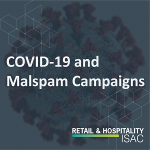 COVID-19 and Malspam Campaigns