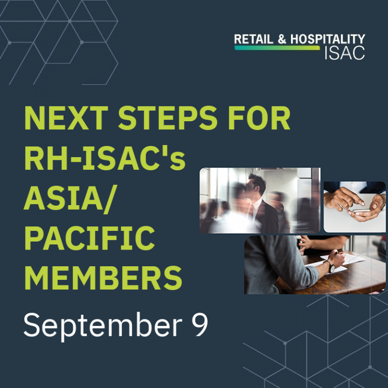 Next Steps for Asia/Pacific Members