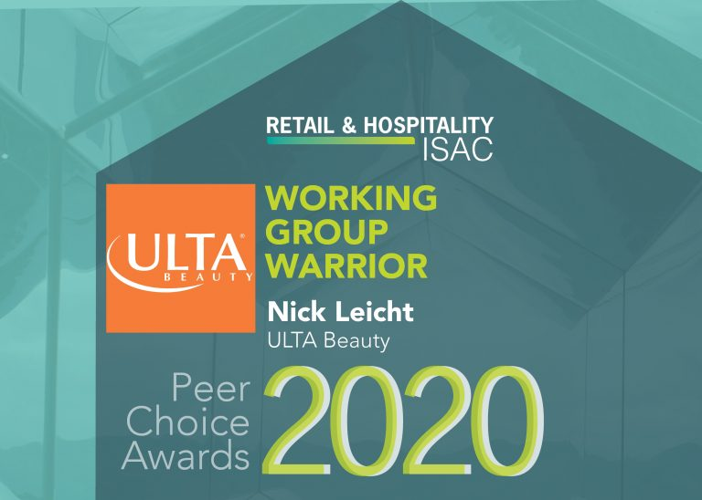 Working Group Warrior: Nick Leicht, Ulta Beauty
