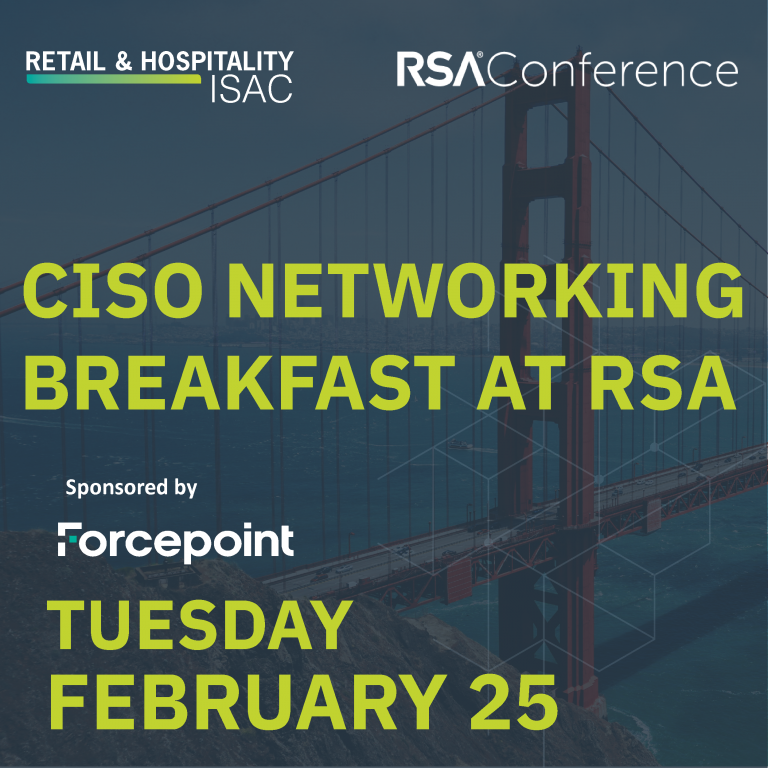 CISO Networking Breakfast at RSA
