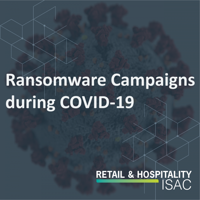 Ransomeware Campaigns during COVID-19